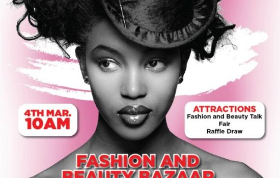 The Fashion and Beauty Bazaar organised by Meadow Hall Foundation (MHF) on Saturday, March 4th